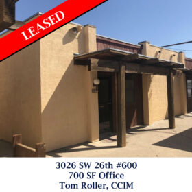 Leased 3026 SW 26th office Tom