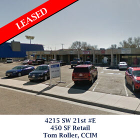 Leased 4215 SW 21st Retail Tom