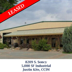 Leased 8209 S. Soncy industrail justin