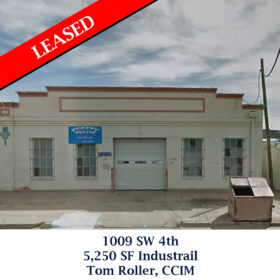 Leased 1009 SW 4th Industrial Tom