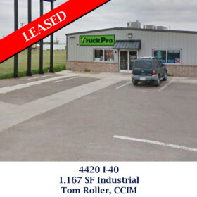 Leased 4420 I-40 Industrial Tom