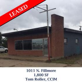 Leased 1011 N. Fillmore tom