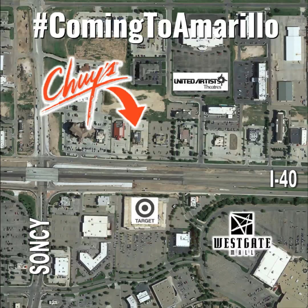 chuys coming to amarillo