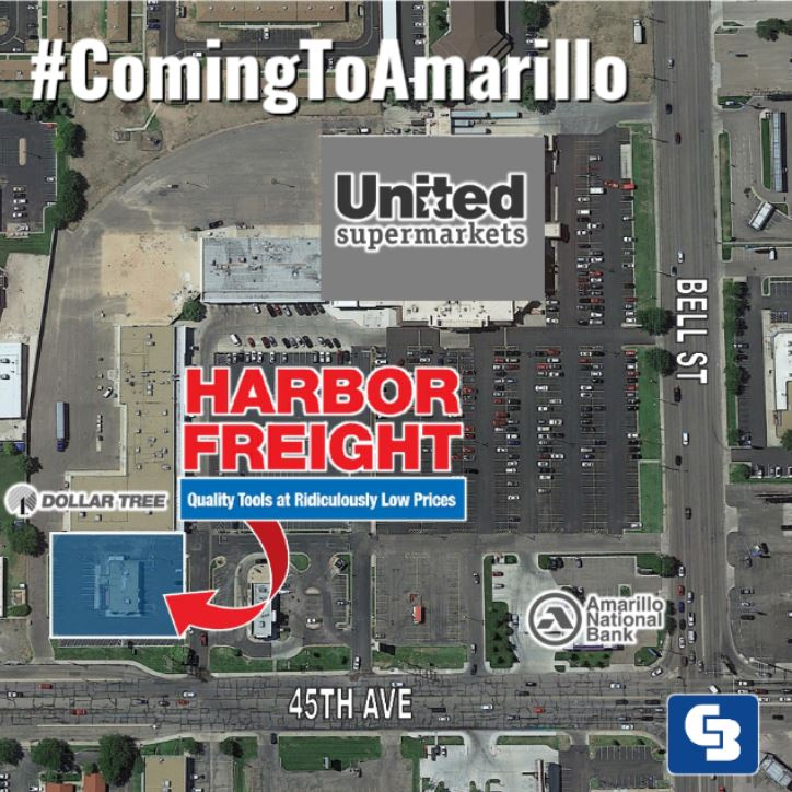harbor freight coming to amarillo