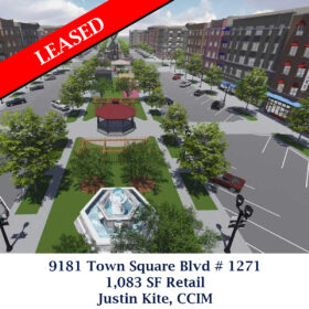 Leased 9181 Town Square Blvd 1271 Justin Retail