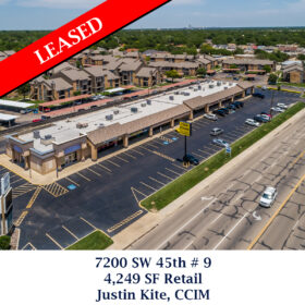 Leased 7200 SW 45th 9 retail justin