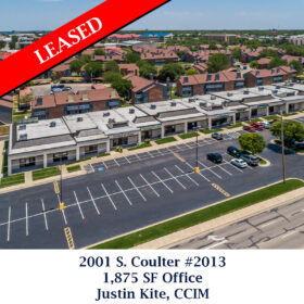 Leased 2001 S coulter 2013 Justin office