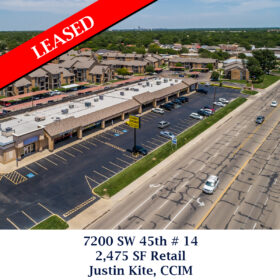 Leased 7200 SW 45th 14 retail justin