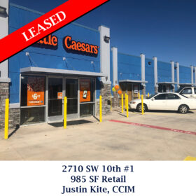 Leased 2710 SW 10th 1 retail justin