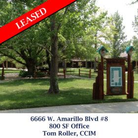 392 Leased 6666 Amarillo Blvd Office Tom
