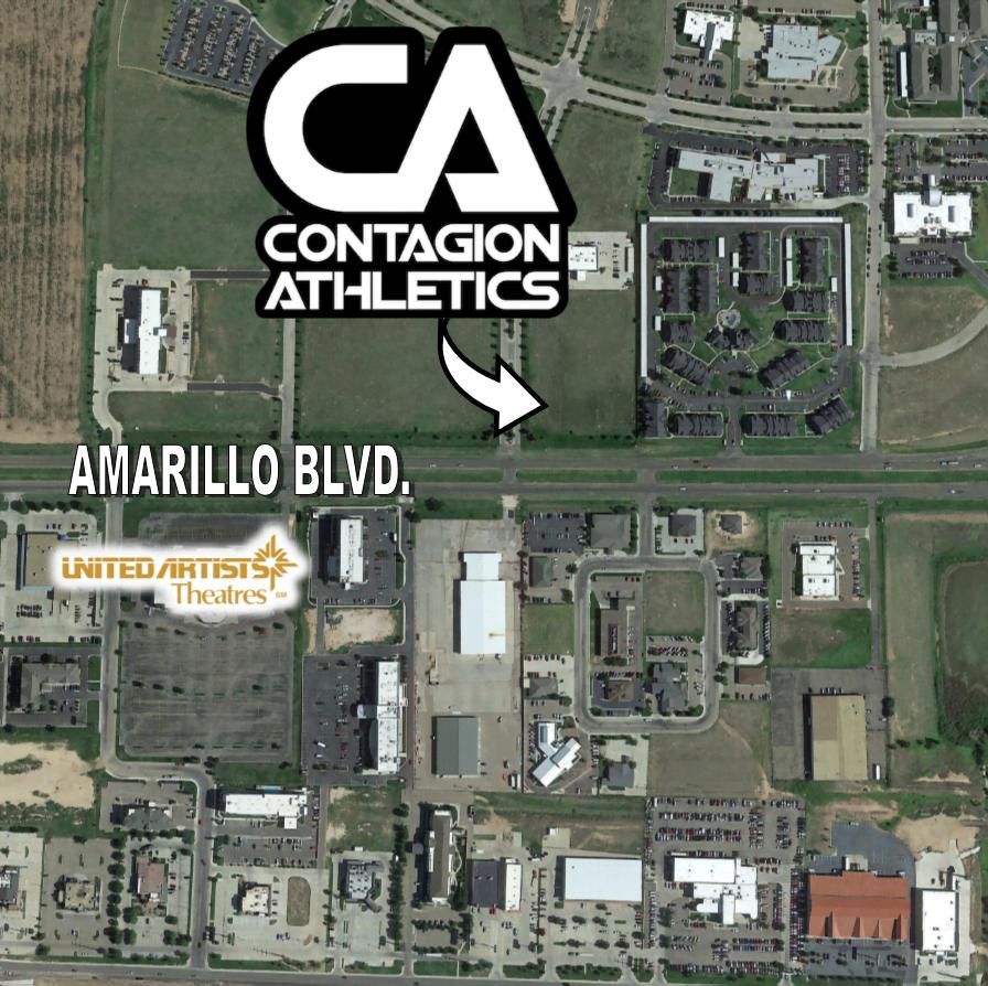 COMING TO AMARILLO CONTAGON ATHLETICS