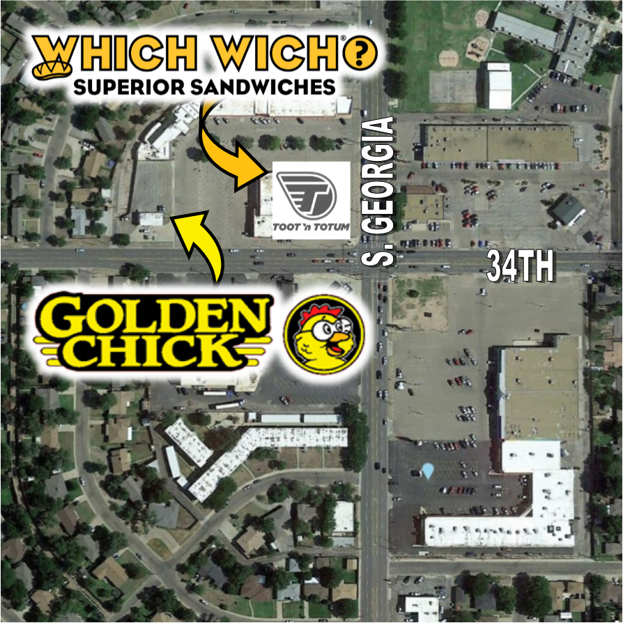 coming to AMarillo Golden Chicken & Which Which