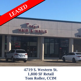 4719 S Western St Tom Leased
