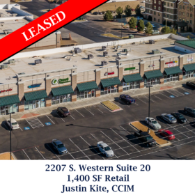 2207 S. Western Suite 20 Leased Justin